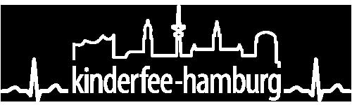 Kinderfee Hamburg - Erste Hilfe am Kind Logo weiss